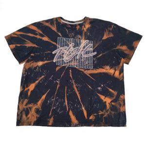Nike Jordan Flight Custom Tie Dye Bleached T-Shirt